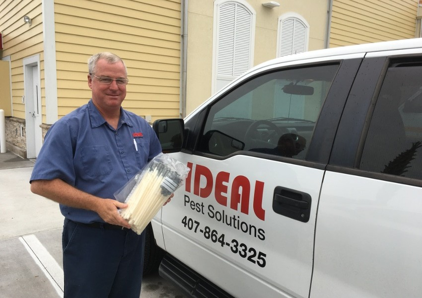 Testimonials: IDEAL Pest Solutions use our patented MABI injectors for his termite treatment
