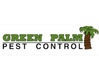Green Palm pest control logo