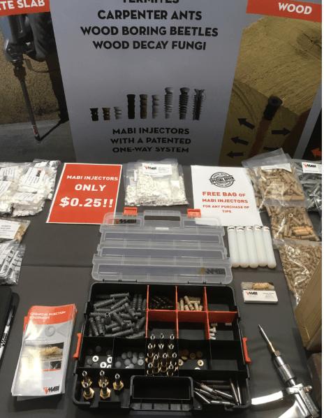 pestworld termite equipment